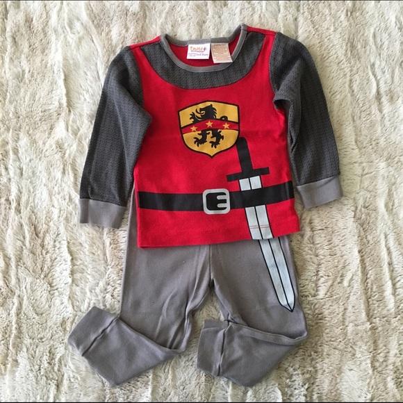 Toddler Boys Knight Pajamas