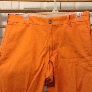 Izod Other - Men's Vintage 32 X 30 Izod Orange Cotton Slacks