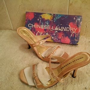 Chinese Laundry fabric sandals