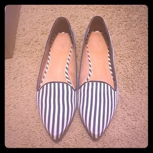 Joie Day Dreaming Striped Flats