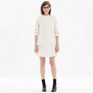 Madewell Boulevard Skirt Size 0