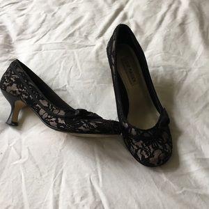 Steve Madden Shoes - Lace Kitten Heels