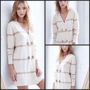 Callahan Dresses & Skirts - Stripe Double Breasted Mini Dress