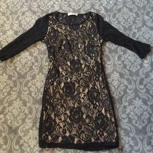 Charlotte Russe - Juniors long maxi dress from Winter\'s closet on ...