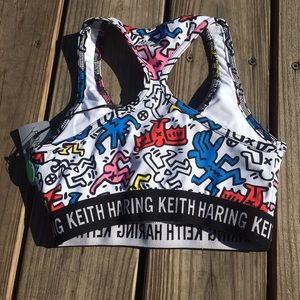 8c57cf013d Forever 21 Intimates   Sleepwear - Keith Haring Sports Bra