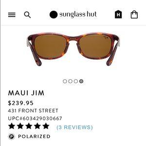 e7f41bfacf Maui Jim Front Street Sunglasses - Bitterroot Public Library