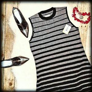 ECI Dresses & Skirts - 🚨NWT M ECI Sleeveless Sweater Black Dress