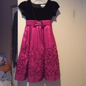 Sweet Heart Rose Other - Black and magenta dress