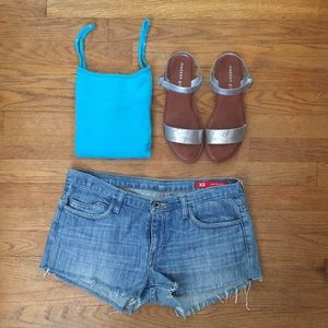 Wet Seal Tops - MUST GO! Turquoise spaghetti strap tank