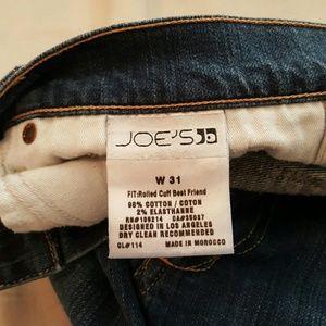 Joe's Jeans Jeans - Joe's rolled cuff best friend jeans Capri