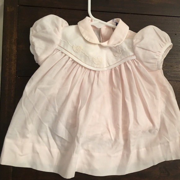 aa2f32cc909 Carriage Boutique Other - Vintage baby dress with stitched ducks.