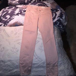 rag & bone Pants - Ran & bone zipper skinny jean Capri