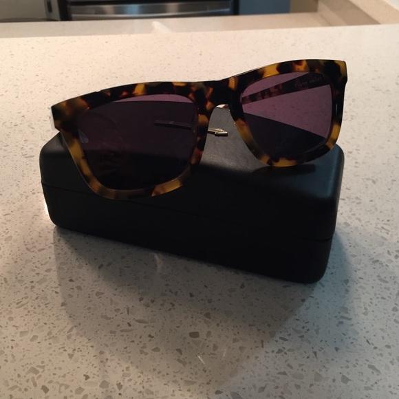 4ac6f2776b3 Karen Walker. Deep Freeze Tortoise Sunglasses