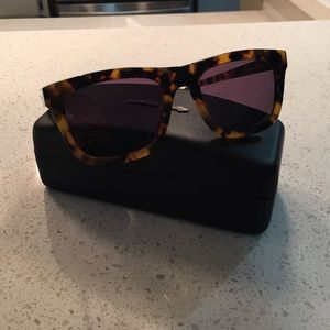 Karen Walker Accessories - Karen Walker. Deep Freeze Tortoise Sunglasses
