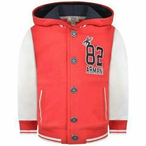 Armani Junior Other - Armani Baby Boy Red Jersey Hooded Jacket