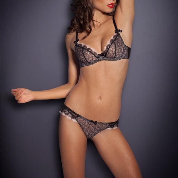 AGENT PROVOCATEUR Ariel Lace Bra   Underwear Set 37e9a6521