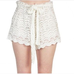 Stone cold fox shorts