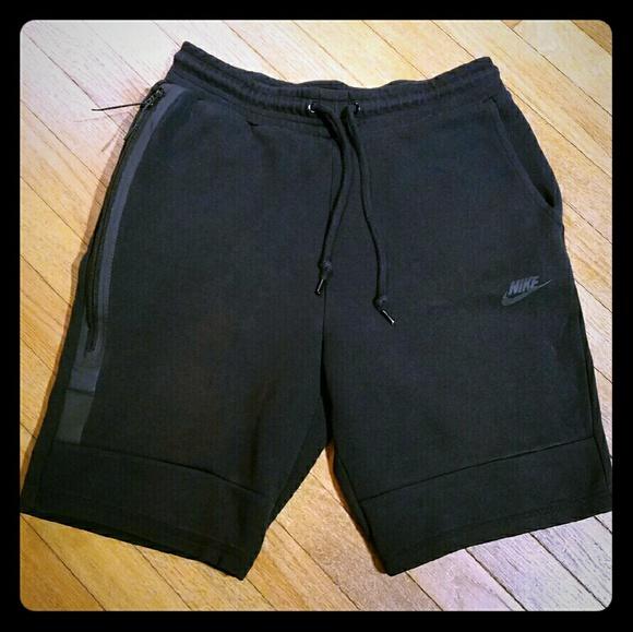 Mens Black Nike Sweat Shorts