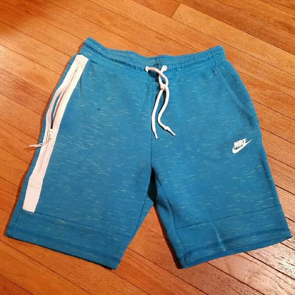 Mens Blue Nike Sweat Shorts. M 57a9469bc6c7955aac01ac4c 336474532920