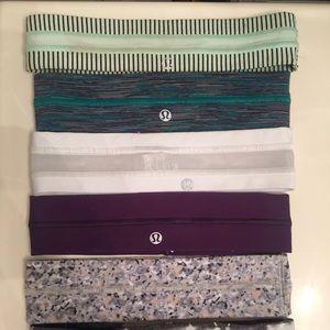 Accessories - Lululemon headband: Purple and patterned