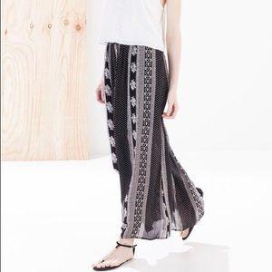 Boho Printed Maxi Skirt