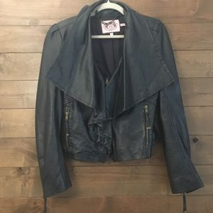 Juicy Couture leather jacket Small
