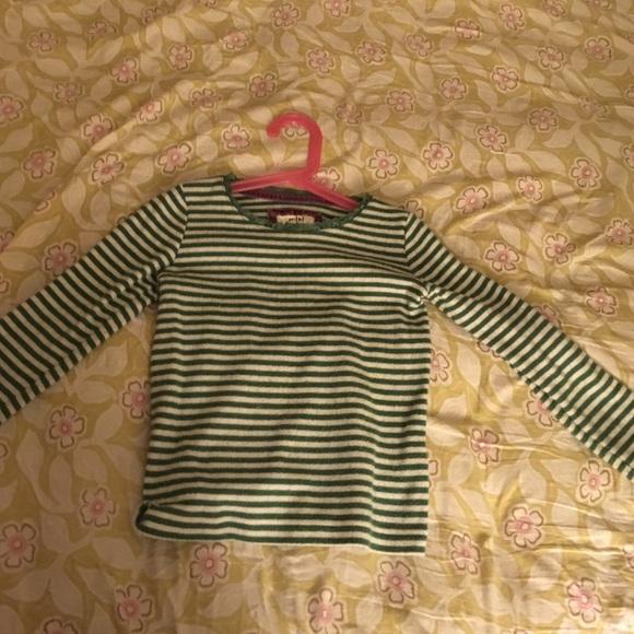 2d50364eb6 Mini Boden Shirts & Tops | Soft Striped Shirt 56 Y | Poshmark
