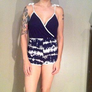 Fashion Nova Pants - 💋 Tie Dye Romper