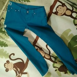 Reign Pants - Blue Reign Skinny Jeans sz 7