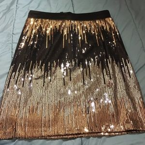 Sequence Flashy Mini Skirt $$$
