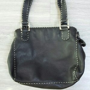 Rare find-Carla Mancini Leather Handbag