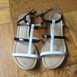 Zara Shoes - Black and White ZARA Sandals