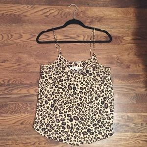 "Rory Beca leopard ""Thil"" tank"