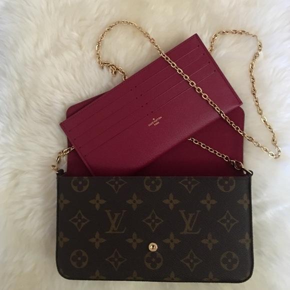 c79c4e764c50 Louis Vuitton Handbags - Louis Vuitton Felicie Card Insert