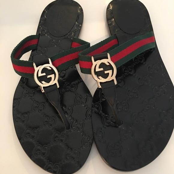 fec1ee95eb9 Gucci Shoes - Gucci women s flip flops