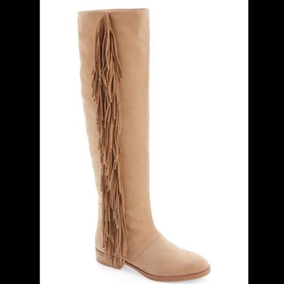8e0e4b032 Sam Edelman Josephine Camel Fringe Boots