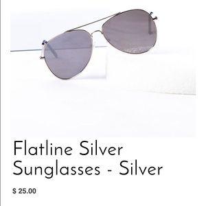Accessories - Silver Sunglasses