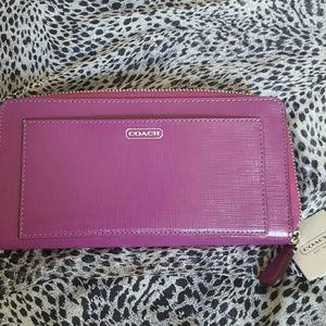 Authentic COACH double wallet