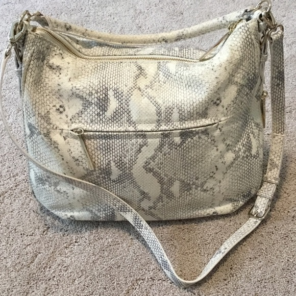 kate spade Bags - Kate Spade Cobble Hill Luxe Ella snakeskin print