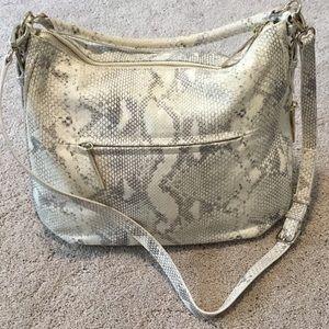 kate spade Bags - Kate Spade Cobble Hill Luxe Ella snakeskin print