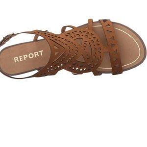 Report Womens Lidia Flat Sandal