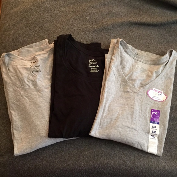 fd1f884f7cb Just My Size Tops - 3-Pack of Just My Size Cotton T-Shirts