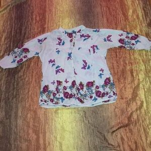 Tops - Women's Butterfly Top. Size Large