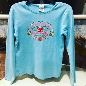 Osh Kosh Other - •Butterfly Ranch Top•