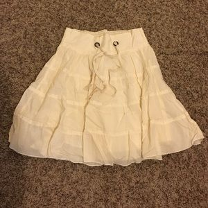 Cream Maurices skirt