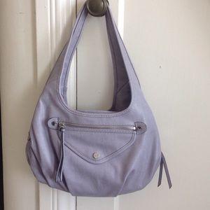 Simply Vera Faux Leather Lavender Bag