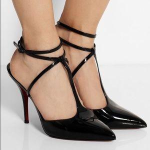 Christian Louboutin Shoes - Christian Louboutin T-slick 120 black patent