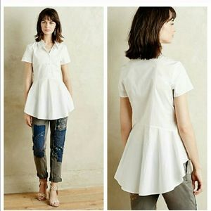 Anthropologie Peplum Shirt