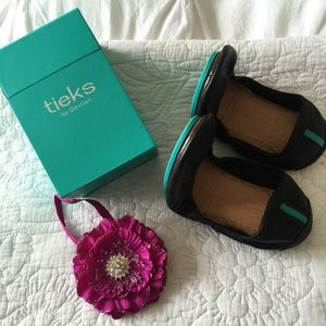 Tieks - Black, like new