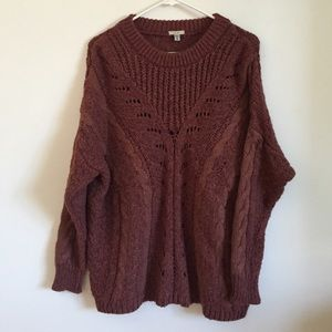 Urban Outfitters Ecote Knit Oversized Sweater